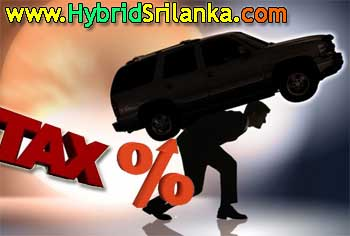 Motor Vehicles Tax Increased in Sri Lanka